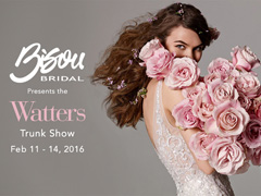 Watters 2016 Trunk Show * Bisou Bridal, Vancouver